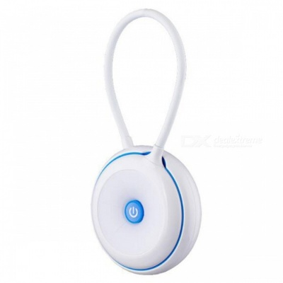 P-TOP USB Charging Touch Sensor Night Light, Reading Lamp with Strap, Can Be Hung in the Bedside - White + Blue