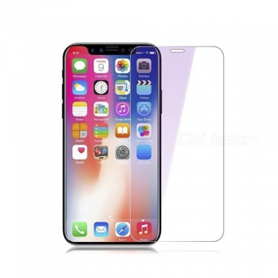 Naxtop Tempered Glass Screen Protector for IPHONE X -Transparent