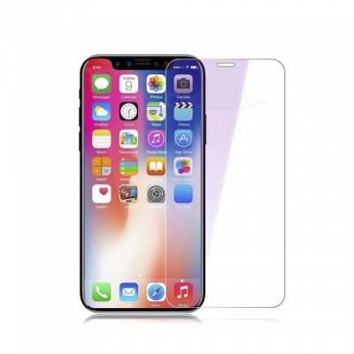 Naxtop Tempered Glass Screen Protector for IPHONE X - Transparent (2PCS)