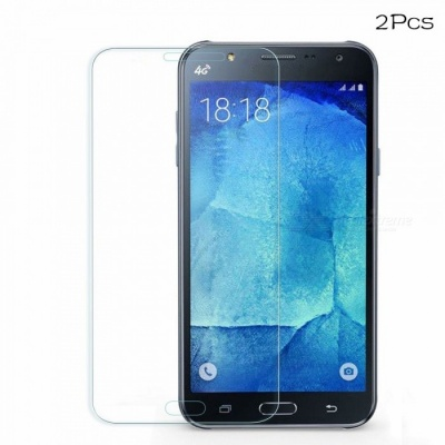 Naxtop Tempered Glass Screen Protector for Samsung Galaxy J7 Pro - Transparent (2PCS)
