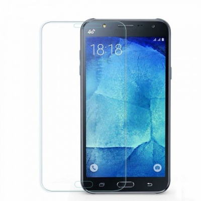 Naxtop Tempered Glass Screen Protector for Samsung Galaxy J7 Pro - Transparent