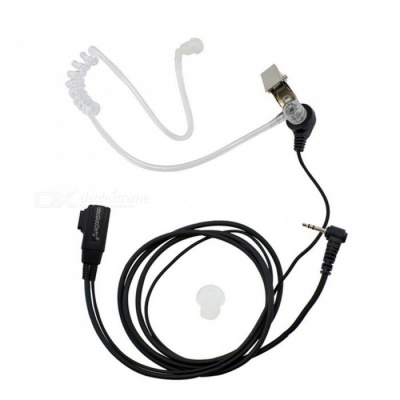 Anti-Noise Single-Hole Unilateral Air Duct Headset Earphone for Motorola Walkie Talkie T5428 / T5628 / T5728 / T6200C