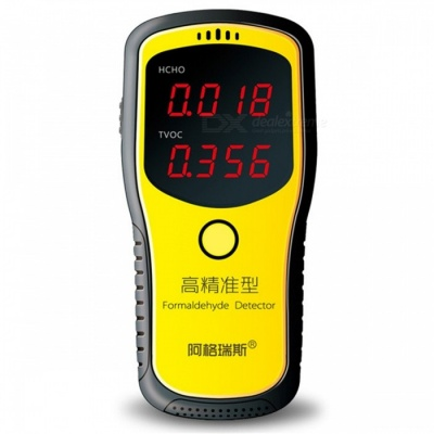 Professional Portable Formaldehyde Detector, Indoor Air Quality Tester with LCD Display