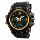 SKMEI 1155B 50M Waterproof Multifunction Sport Watch - Gold
