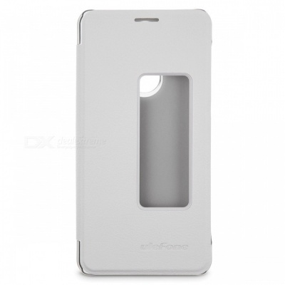 Ulefone PU Leather Protective Cover Case for Ulefone Tiger/Tiger Lite - White