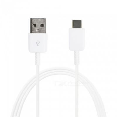 Mini Smile Fast Charging USB 3.1 Type-C Male to USB Cable for Samsung Galaxy Note 8 - White