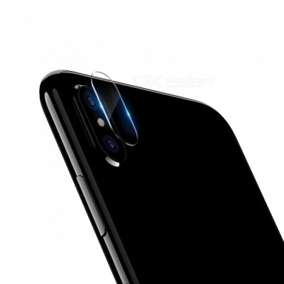 0.15mm 9H Hardness Tempered Glass Camera Lens Protector for IPHONE X