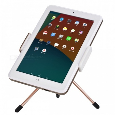 P-TOP 8 Inches Projection Tablet PC Business Entertainment Portable Projector - Golden