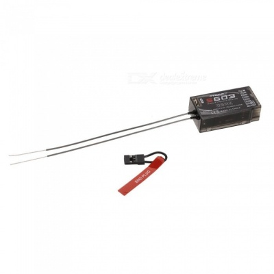 S603 6CH Receiver, Support JR JR12X Spektrum DX8 Transmitter for RC Drone Helicopter Multicopter