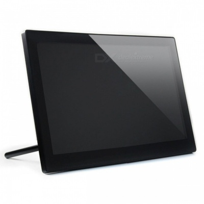 Waveshare 1920x1080 13.3 Inches HDMI LCD Screen with Toughened Glass Cover, Supports Multi Mini-PCs, Multi Systems