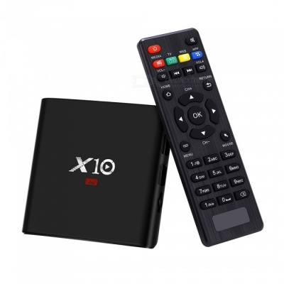 X10 Android 7.1 HD 4K Smart TV Box with 2GB RAM, 16GB ROM