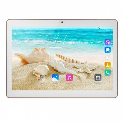 "10.1"" Android 4.4 Quad-core 3G Phone Tablet PC with Wi-Fi, 1GB RAM 16GB ROM - White"