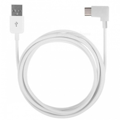 CY UC-011-WH-2.0M 2m Right Angled USB 3.1 Type-C USB-C to USB 2.0 Charging Data Cable - White
