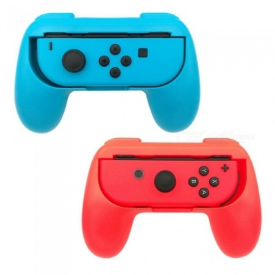 Miimall Nintendo Switch Joy-Con Grip, 2-Pack Wear-Resistant Game Controller Handle Kit for Nintendo Switch Joy-Con