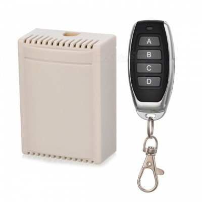 KJ-95-433MHZ DC12V 4-Way Remote Switch for Lighting. Garage Door, Lifting Device, Motor Control, Water Pump, Lifter