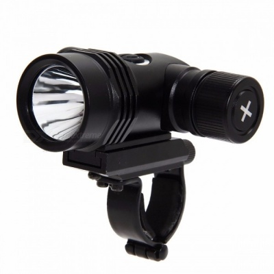 Super Bright 5000LM 3-Mode T6 LED 18650 Bicycle Front Light, Waterproof Bike Head Lamp Torch Flashlight black