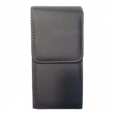 i6P-BK-S PU Leather Full Body Straight Case for IPHONE 6 Plus - Black