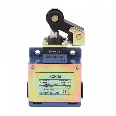 YENISEI XCK-M AC 240V 3 Amp Roller Lever Actuator Limit Switch