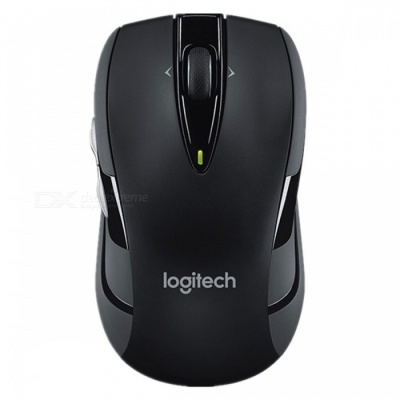 Logitech M545 Portable 1000 DPI 2.4Ghz USB Optical Wireless Mouse, Silent Gaming Mice for Computer Laptop Black