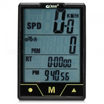Bogle's Latest BoGeer Touch Screen 328 Wired Multi-function Stopwatch for Bike - Black