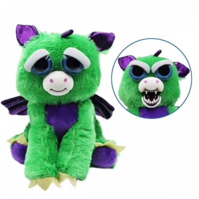 Super Cute Face-Changing Plush Doll Devil for Kids
