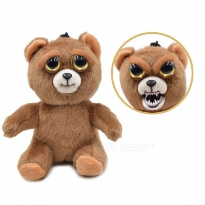 Super Cute Adorable Face-Changing Plush Doll Pet for Kids