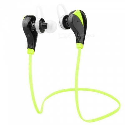 ZHAOYAO Mini Bluetooth V4.1 Wireless Sports Headset Earbuds for Running Fitness Exercise - Green