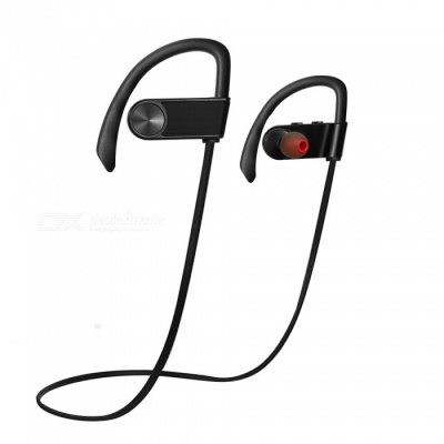 ZHAOYAO Wireless Bluetooth CSR4.1 Stereo Earhook Style Sports Earphone for Running Fitness Exercise - Grey