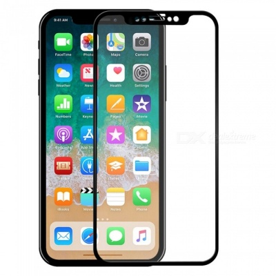 ASLING 2.5D Arc Edge Explosion-proof Full Cover Screen Protector for IPHONE X