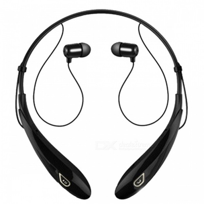 ZHAOYAO Wireless Sports Bluetooth V4.1 Headset, Stereo Headphone for Running Fitness - Black + White