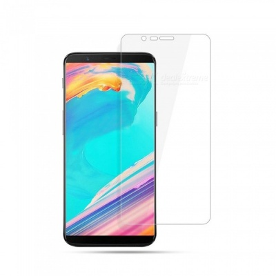 Naxtop Tempered Glass Screen Protector for Oneplus 5T - Transparent