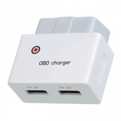 High Quality OBD Charger Uninterrupted Charger with Dual USB Ports