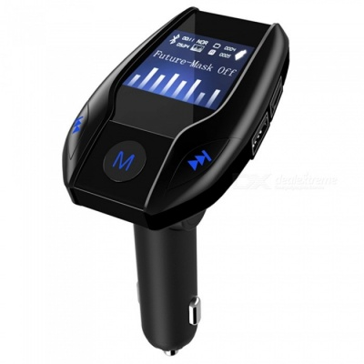 KELIMA Car Bluetooth Hands-free FM Transmitter MP3 Player Car Charger