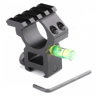 ACCU Aluminum Alloy Tactical 20mm Gun Mount with Spirit Level / Single 20mm Rail for 30mm Barrels