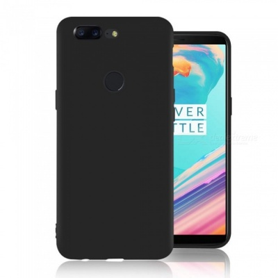Naxtop TPU Ultra-thin Soft Flexible Protective Back Case for Oneplus 5T - Black