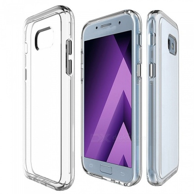 Adeline Ultra-Thin TPU PC Back Cover Case for Samsung A5 - Transparent