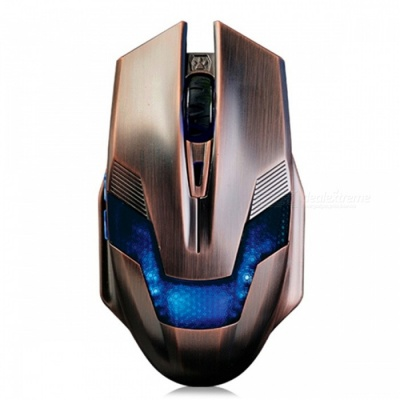 Ajazz Green Hornet 6-Button USB Wired Gaming Mouse w/ Backlit for CF LOL Game, Office, Notebook Desktop Computer