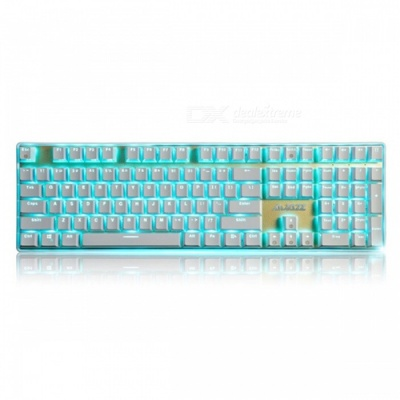 AJAZZ Ak33I Backlit Mechanical Keyboard with 108 Buttons Gaming Keyboard - Brown Switch