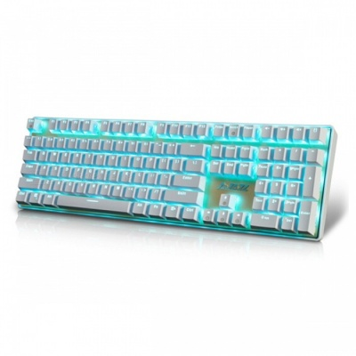 AJAZZ Ak33I Backlit Mechanical Keyboard with 108 Buttons Gaming Keyboard - Red Switch