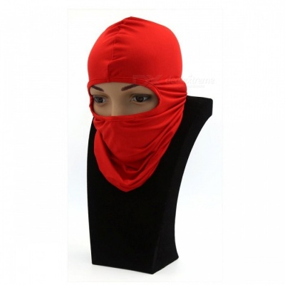 Windproof Balaclava Face Mask Motorcycle Cycling Bike Skiing Military Tactical Paintball Cover - Red