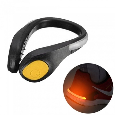 YWXLight LED Luminous Shoe Clip Light, Night Safety Warning Light for Shoes Protector - Yellow