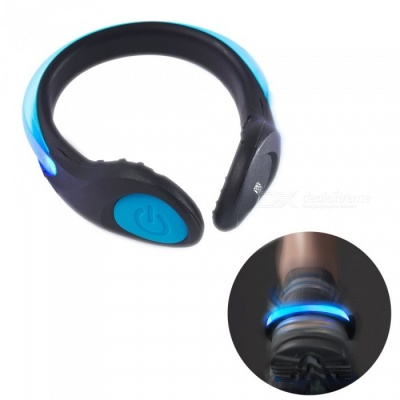 YWXLight LED Luminous Shoe Clip Light, Night Safety Warning Light for Shoes Protector - Blue