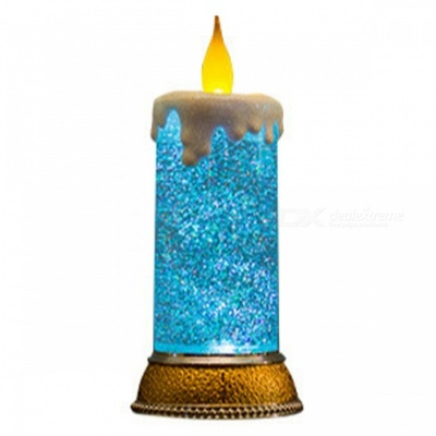 P-TOP RGB LED Birthday Candle Light, Christmas Night Light for Home Furnishings European Atmosphere Decoration