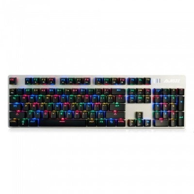 AJAZZ AK52 Alloy Game Mechanical Keyboard with RGB Backlight - Blue Switch