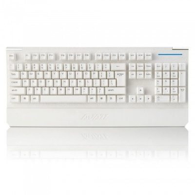 AJAZZ Exorcism AK20 Mechanical Hand Feeling Game Keyboard with Backlight for Home Office - White