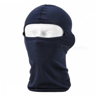 NUCKILY PK10 Unisex Winter Cycling Windproof Warm Breathable Full Face Mask Balaclava Scarf - Blue