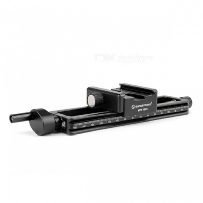 SUNWAYFOTO MRF-150S Macro Focusing Rail with Screw-Knob Clamp