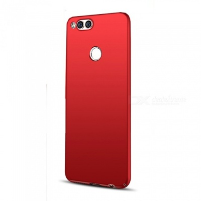 Naxtop PC Hard Protective Back Case for Huawei Honor 7X - Red