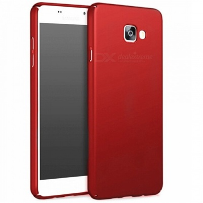 Naxtop PC Hard Protective Back Case for Samsung Galaxy A7 (2017) - Red