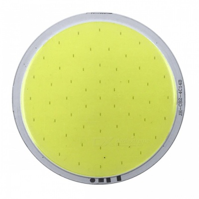 ZHAOYAO 82x82mm 7W DC 12-14V Dimmable COB LED Light - Cold White